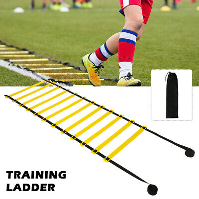 6M 8M Long Speed Agility Football Training Ladders Exercise Sports Running 4M