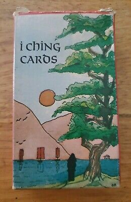 I Ching Antique Cards Pack Tarot Complete Deck Switzerland made 80 cards & coins