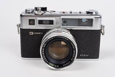 Yashica Electro 35 GSN + Yashinon DX 45MM 1:1,7 - new seal and Battery adapter.