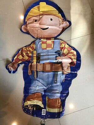 Bob the Builder 33in x 22in Lot of 2 Anagram Supershape Foil Balloons