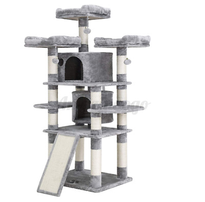 67'' 5 Tier Cat Tree Tower Condo Furniture Scratching Kitty Pet Play Fun House