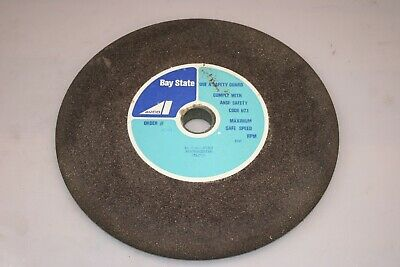 """12"""" x 7/8"""" x 1 1/4"""" Surface Grinding Wheel Bay State 444061 3A36K8BX2L7 SP533"""