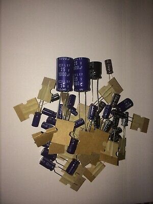 Replacement radial electrolytic capacitors complete kit PRESIDENT JACKSON mk1
