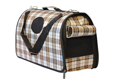 16 Pounds Fashion Pet Outdoor Carrier Soft Sided Cat / Dog Comfort Travel Bag