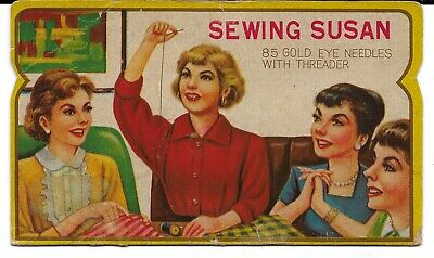 Vintage Skelgas Sewing Needle Pack