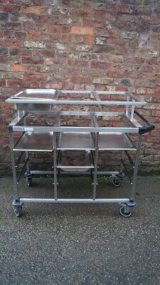 Gastronorm Cold Food Serving Trolley