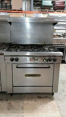 """Used 36"""" Natural Gas Southbend Range with (6)Burners and Standard Oven"""