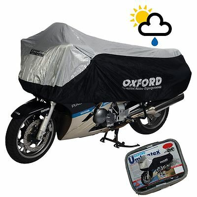 Wing Mirrors World LEXMOTO MICHIGAN 125 Rider Products Waterproof Motorcycle Cover Bike Camouflage