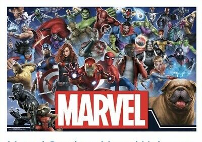 "Marvel Comics -Marvel Universe - Heroes Wall Poster 22.375""x34"" Trends Brand NEW"