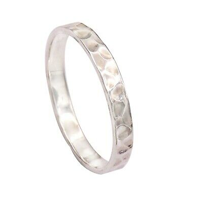 Details about  /Band Ring Solid 925 Sterling Silver Meditation Ring All Sizes GESR64