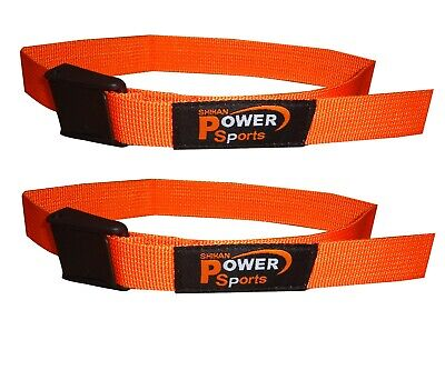 Details about  /BICEP STRAP Max Bicep Blood Flow Restriction Occlusion Training Bands ORANGE
