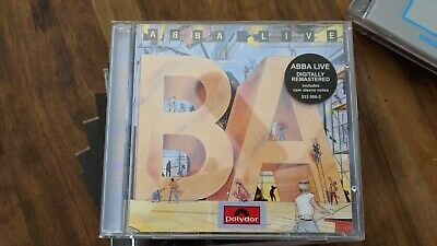 Abba Live Remastered  Audio CD