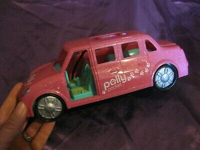 Polly Pocket Pink Glitter Limousine