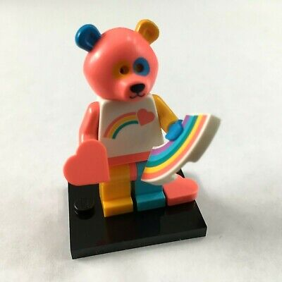 New Official Lego Collectible Minifigure #15 Rainbow Bear Care Bear