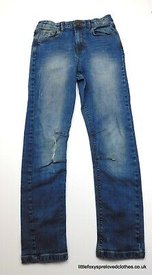 12 years boys Urban Outlaws jeans stylish straight denim trousers ripped