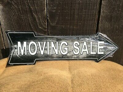 """Office Bulb Looking Letters Novelty Metal Arrow Sign 17/"""" x 5/"""" Wall Decor DS"""