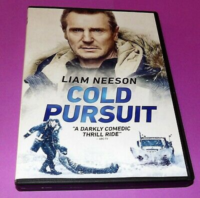 Cold Pursuit (Excellent Condition DVD) Liam Neeson + With Free Shipping FAST