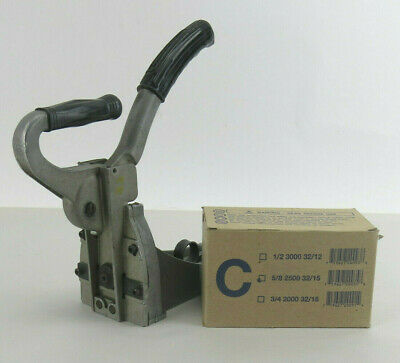 Hand Machine Stapler International Staple and Machine Co. HB150 w/ 2500 Staples