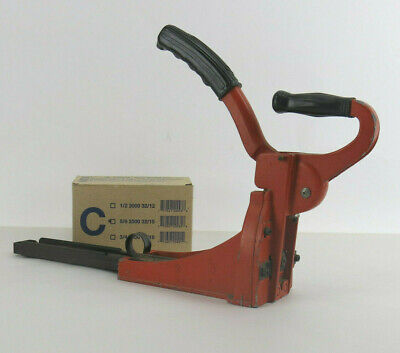 Carton Closing Stapler Machine Clincher HC150 with C5/8 Box Of Staples
