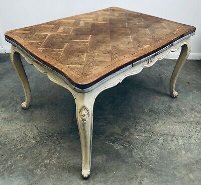 LOVELY 20th CENTURY FRENCH COUNTRY OAK EXTENDING DINING TABLE, C1930