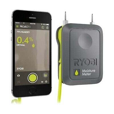 Ryobi Phone Works RPW - 3000 Moisture Meter DIY Gadget for Smart Phone (IPHONE)