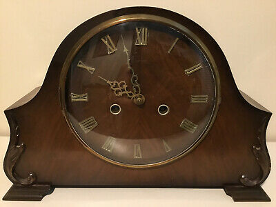 Smiths Of Enfield Napoleon Hat Mantle Clock