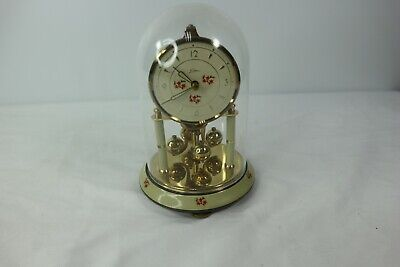 Vintage Kern Sohne Dome Anniversary 400 Day Clock