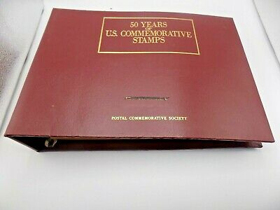 60 Years US Mint Commemorative Stamps 1939 to 1999 2 Binders Pages Complete (M1)