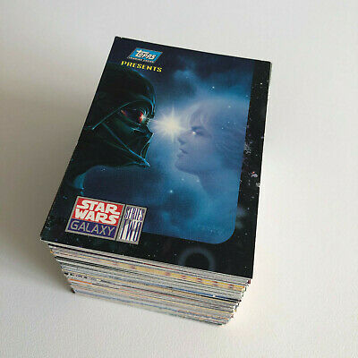 Star Wars Galaxy Series 2 - Incomplet Set 149 Cartes - Trade Trading Cards