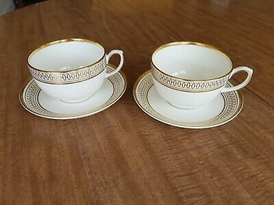Cartier - La Maison Des Must Breakfast Cup and Saucer Set for 2