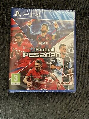 eFOOTBALL PES 2020 - PS4 PLAYSTATION 4 - NEW & SEALED
