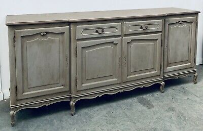 LOVELY ANTIQUE 20th CENTURY FRENCH SIDEBOARD CUPBOARD ORIGINAL PAINT, C1920