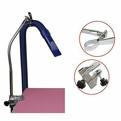 Heavy Duty Dog Pet Grooming Table Hair Dryer Stand Hose Tube Holder Hands
