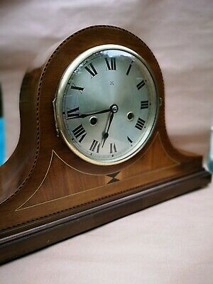 Antique Mantle Clock , Napoleon Hat Westminster Chimes 8 Day German Clock GWO.