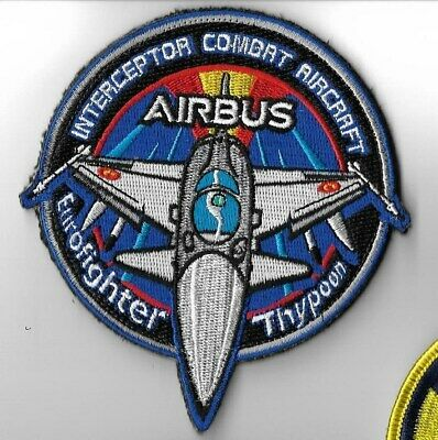Spain Ejercito Del Aire Patch Airbus Eurofighter Typhoon Combat Aircrat Velcr Ho