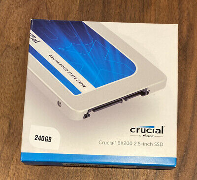 Crucial BX200 240GB SATA 2.5 Inch Internal Solid State Drive SSD CT240BX200SSD1