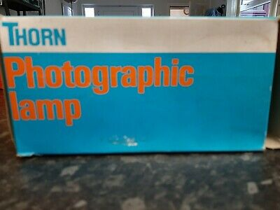 Thorn photographic lamps 240/250v, 500w, BC, P1/2