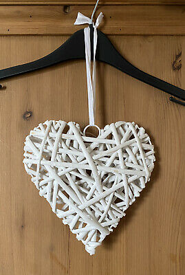 "Wooden Wicked Heart Decoration ""Used But In Good Condition"""