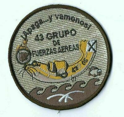 Spain Ejercito Del Aire Patch 43 Group Canadair Cl-215 Arid 'Apaga Y Vamonos'