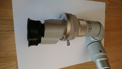 Carl Zeiss Stereo Observer Tube w/ binoculars set for OPMI Surgical Microscope