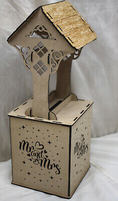 M715 WISHING WELL WEDDING CARD POSTBOX donut doughnut wedding party table NDS3