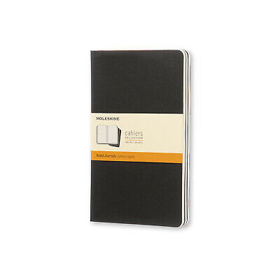 Moleskine - Cahier Notebook - Set Of 3 - Ruled - Large - Black