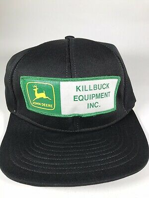 Vintage John Deere Dealership Patch Hat Killbuck Equipment Premier Brand