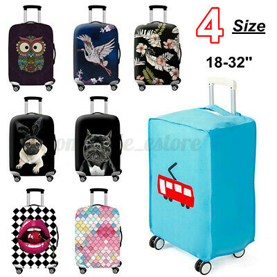 Elastic Travel Luggage Trolley Suitcase Dustproof Protective Cover Case Bag