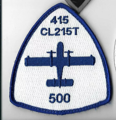 Spain Patch Ejercito Del Aire Bombardier Cl-215 415T 43 Group 500 Hrs  Velcr