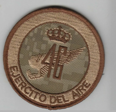 SPAIN EJERCITO DEL AIRE PATCH GANDO AB 46th WING ARID PIXEL CAMO VELCR BACK