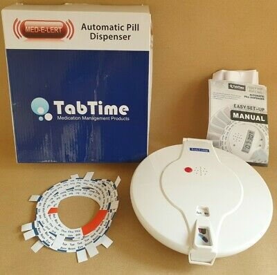 Tabtime Medelert automatic pill dispenser
