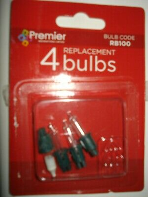 Two Packets of NOMA W1  12v 1.1w Christmas Spare Bulbs