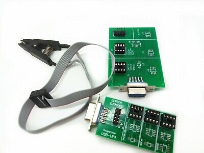Upa Usb 1.3 Eeprom Programmer Tool Board Adapter 8 Soic con Clip Car Diagnostic
