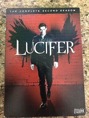 Lucifer The Complete Second Season Dvd